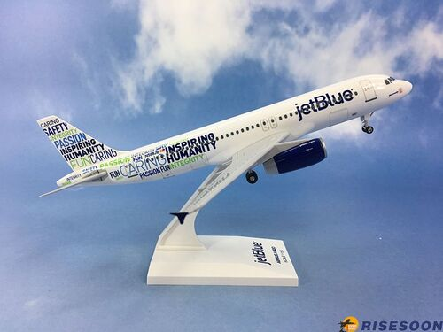 捷藍航空 Jetblue Airways ( Bluemanity文字機 )  / A320 / 1:150