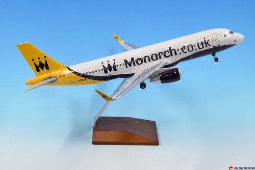 君主航空公司 Monarch Airlines / A320 / 1:100  |現貨專區|AIRBUS