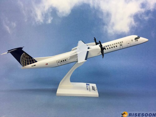 美國聯合航空 United Airlines / Dash 8-400 / 1:100  |BOMBARDIER|Dash 8-400